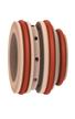 Pierścień zawirowujący do palnika ręcznego MAXPRO200 - powietrze — stal miękka / stal nierdzewna / aluminium.