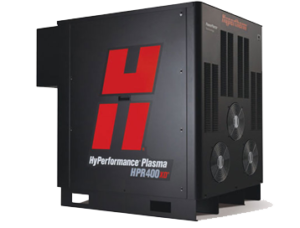 System plazmowy HPR400XD.