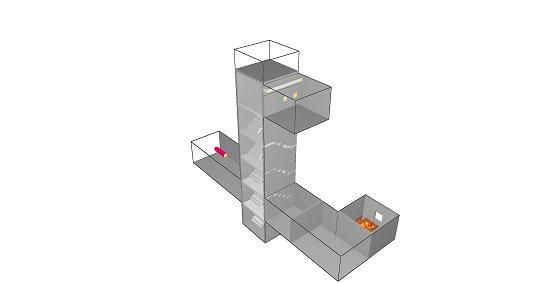 Oddymianie na klatce schodowej - przykład