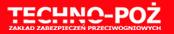 techno-poż logo firmy