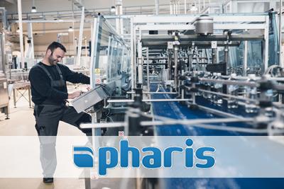 System realizacji produkcji typu MES - MES Pharis.