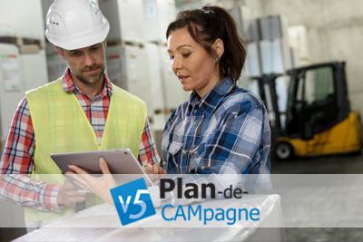 System do zarządzania produkcją w firmach z branży przemysłowej Plan-de-CAMpagne.