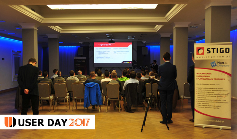 Konferencja podczas User Day STIGO 2017